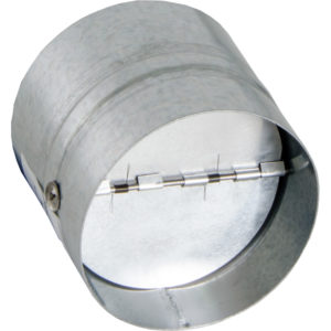 Backdraft Damper, 4""