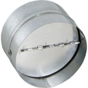Backdraft Damper, 8""