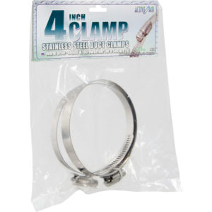 Stainless Steel Duct Clamps - 4""
