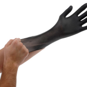 Black Lightning Gloves, large