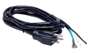 240V Power Cord 8' Nema 6-15P UL
