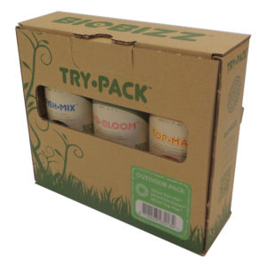 Trypack Outdoor, pack of 3-250ml