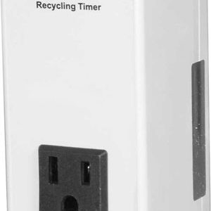 Non-Adjustable Timer, 3m On/5 Off, 15A@120VAC
