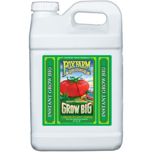 Grow Big Liquid Concentrate, 2.5 gal