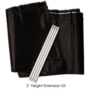 SPO 2' Extension Kit 10'x20' Gorilla Grow Tent