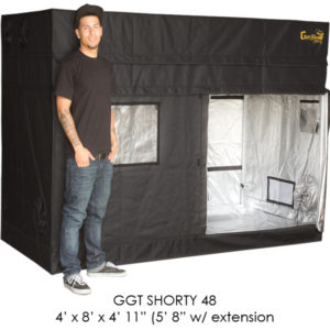 "4'x8' Gorilla Grow Tent SHORTY w/ 9"" Extension Kit"