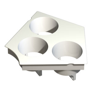 RainForest Modular 318 Lid Insert Kit