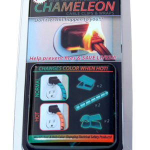 Chameleon Cable Clips & Wraps