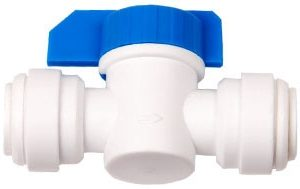 "1/4"" QC x 1/4"" QC Inline Shut Off Valve"