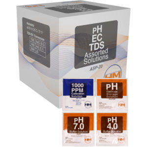Variety Box of 20 units,  5/ea 20 ml pack of pH4