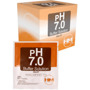 20 ml pack of pH 7 Buffer solu