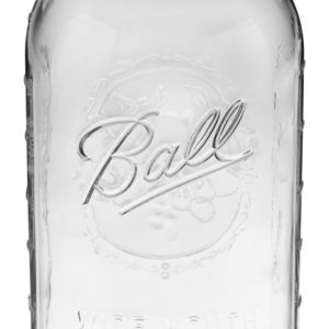Ball Jar 64oz Wide Mouth Half