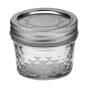 Ball Jar 4oz Quilted Crystal (