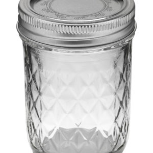 Ball Jar 8oz Quilted Crystal (