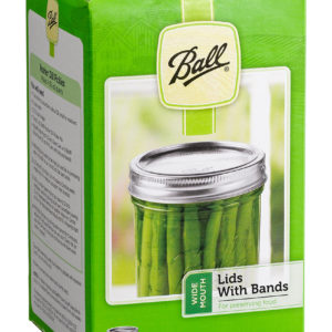 Ball Jar Wide Mouth Lids & Bands (12/pk)(12/cs)