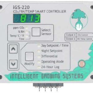 CO2/RH/Temperature Smart Controller