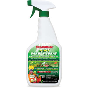 Organocide 3-in-1 Garden Spray RTU 24 oz