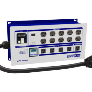 10 Light Controller with Digital Ammeter (NEMA 14