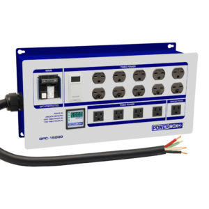 10 Light Controller with Digital Ammeter (60A 4-Wi