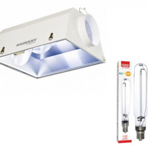 Radiant 6 Reflector with Agrosun 1000W HPS Lamp