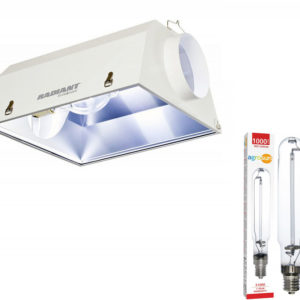 Radiant 8 Reflector with Agrosun 1000W HPS Lamp
