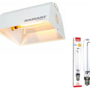 Radiant Reflector with Agrosun 1000W HPS Lamp