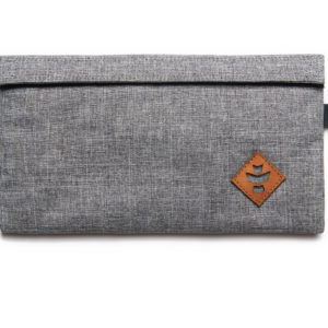 Confidant - Crosshatch Grey, Money Bag