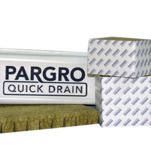 "Pargro QD 3"" w/ hole, wrapped"