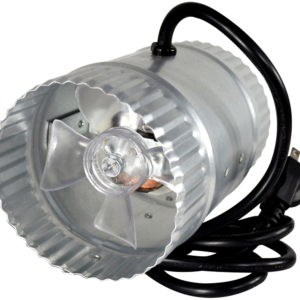 "4"" Duct Fan w/cord, 65 CFM"