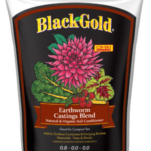 Black Gold Earthworm Castings Blend, 16 qts
