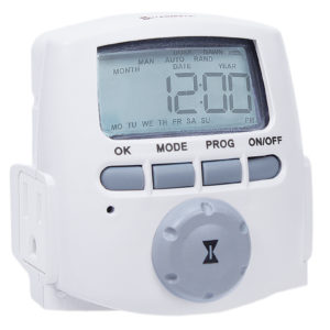 H D Indoor 2-Outlet Digital Timer