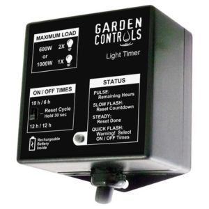 Grozone Garden Controls Light Timer (12/Cs)