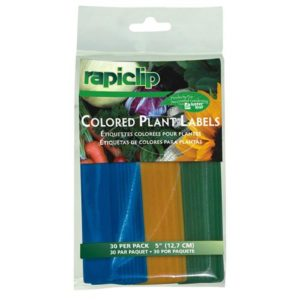 Luster Leaf Colored Plant Labels 5 in (12/Cs)