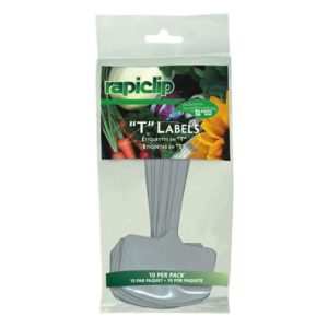 Luster Leaf T Label Plant Markers 8 in (12/Cs)