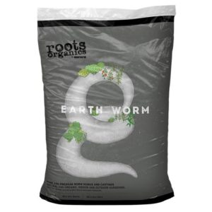 Roots Organics Earth Worm 1 Cu Ft (60/Plt)
