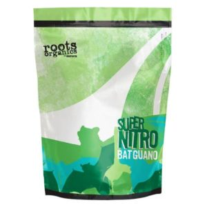 Roots Organics Super Nitro Bat Guano 3 lb (3/Cs)