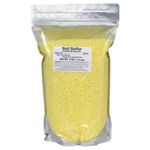 Soil Sulfur 4 lb (6/Cs)