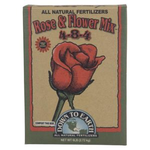 Down To Earth Rose & Flower Mix - 25 lb