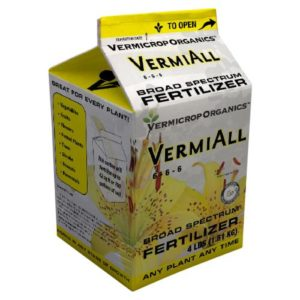 Vermicrop VermiAll Purpose Broad Spectrum Fertilizer 25 lb (1/Cs)