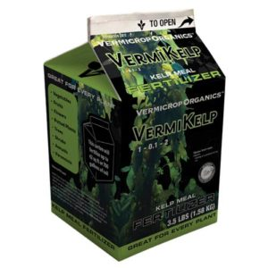 Vermicrop VermiKelp Kelp Meal Fertilizer 3.5 lb (4/Cs)