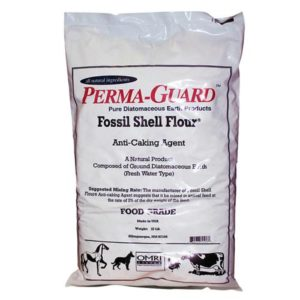Perma Guard Diatomaceous Earth Fossil Shell Flour Food Grade 10 lb (2/Cs)