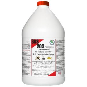 SNS 203 Conc. Pesticide Soil Spray/Drench Gallon (4/Cs)