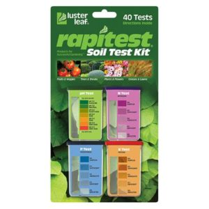 Rapitest Soil Test pH N,P,K (6/Cs)