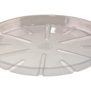 Bond Clear Plastic Saucer 16 in (25/Bag)