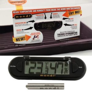 Mondi Mini Greenhouse Thermo-Hygrometer (25/Cs)