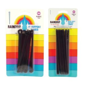 Raindrip 6 in Support Stakes Blister Card 10/Pack