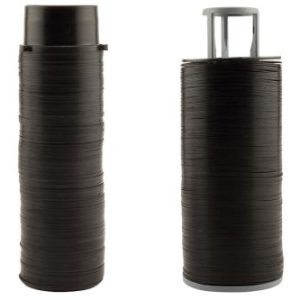 Hydro Flow / Netafim Ring Set w/ Spine - 140 Mesh Black for 1 in and 1-1/2 in Filters (1/Cs)