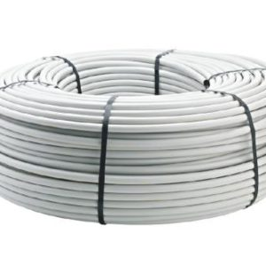 Netafim UV White / Black Polyethylene Tubing 1 in (1.06 in ID x 1.20 in OD) - 100 ft (1/Cs)