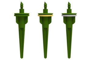 FloraFlex Piercing 1/4 in 4 GPH Short Rocket Drippers (1=6/Bag)