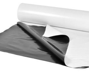 Panda Black & White Poly Film 10 ft x 100 ft Roll